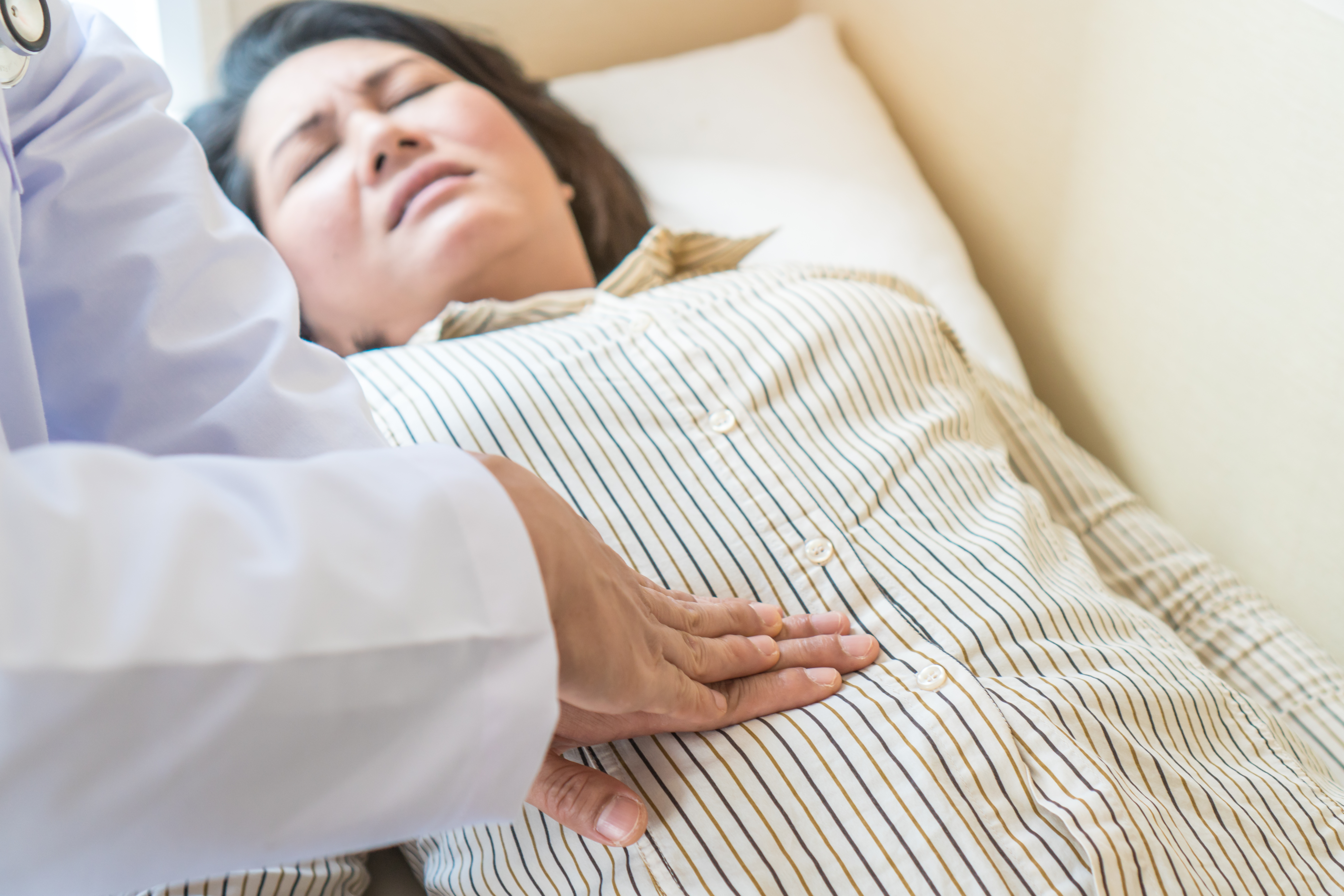 Back & Low Stomach Pain, Constipation in Elderly: Could Be?