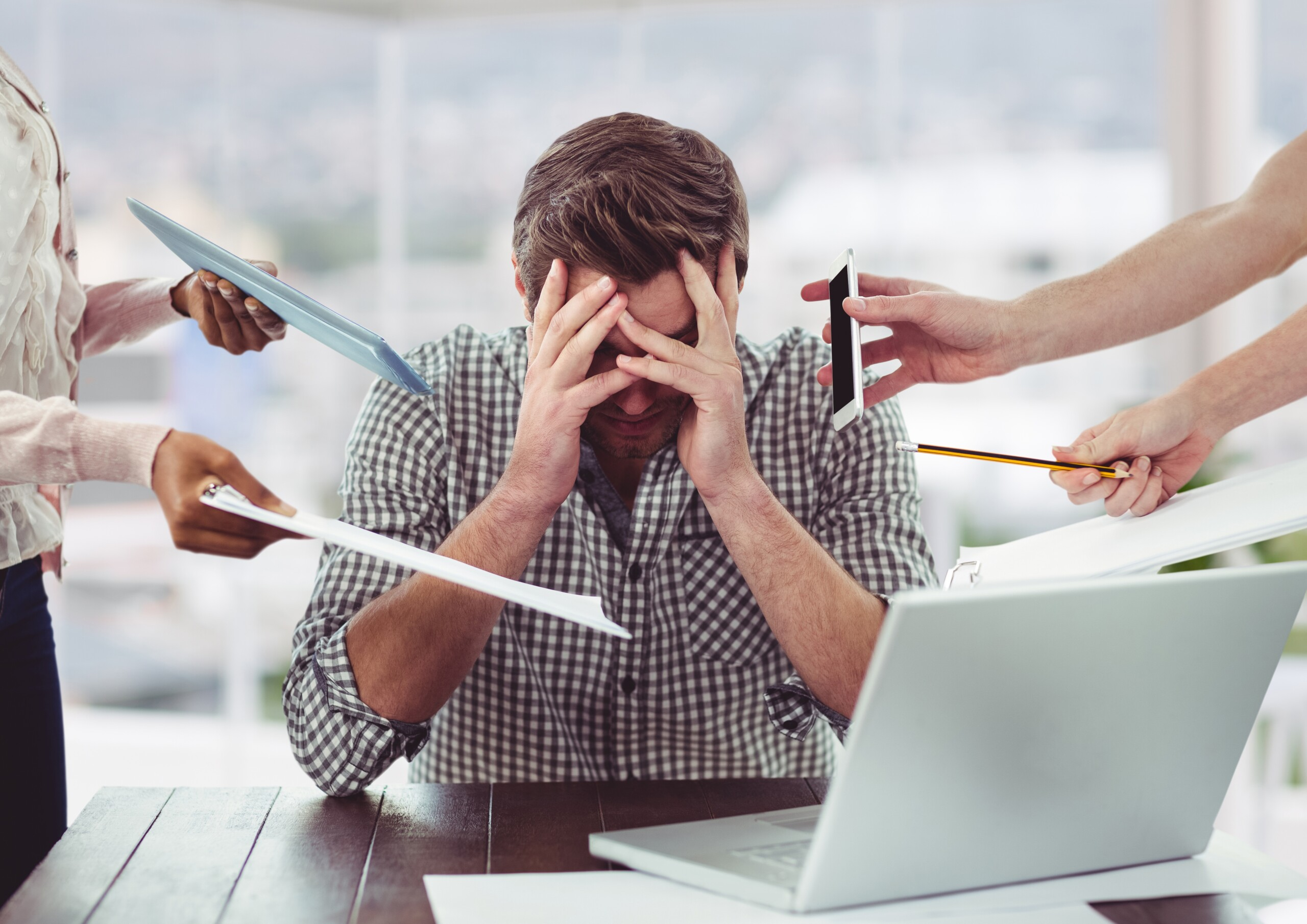 Here's How Mental Stress Causes Migraine Headaches