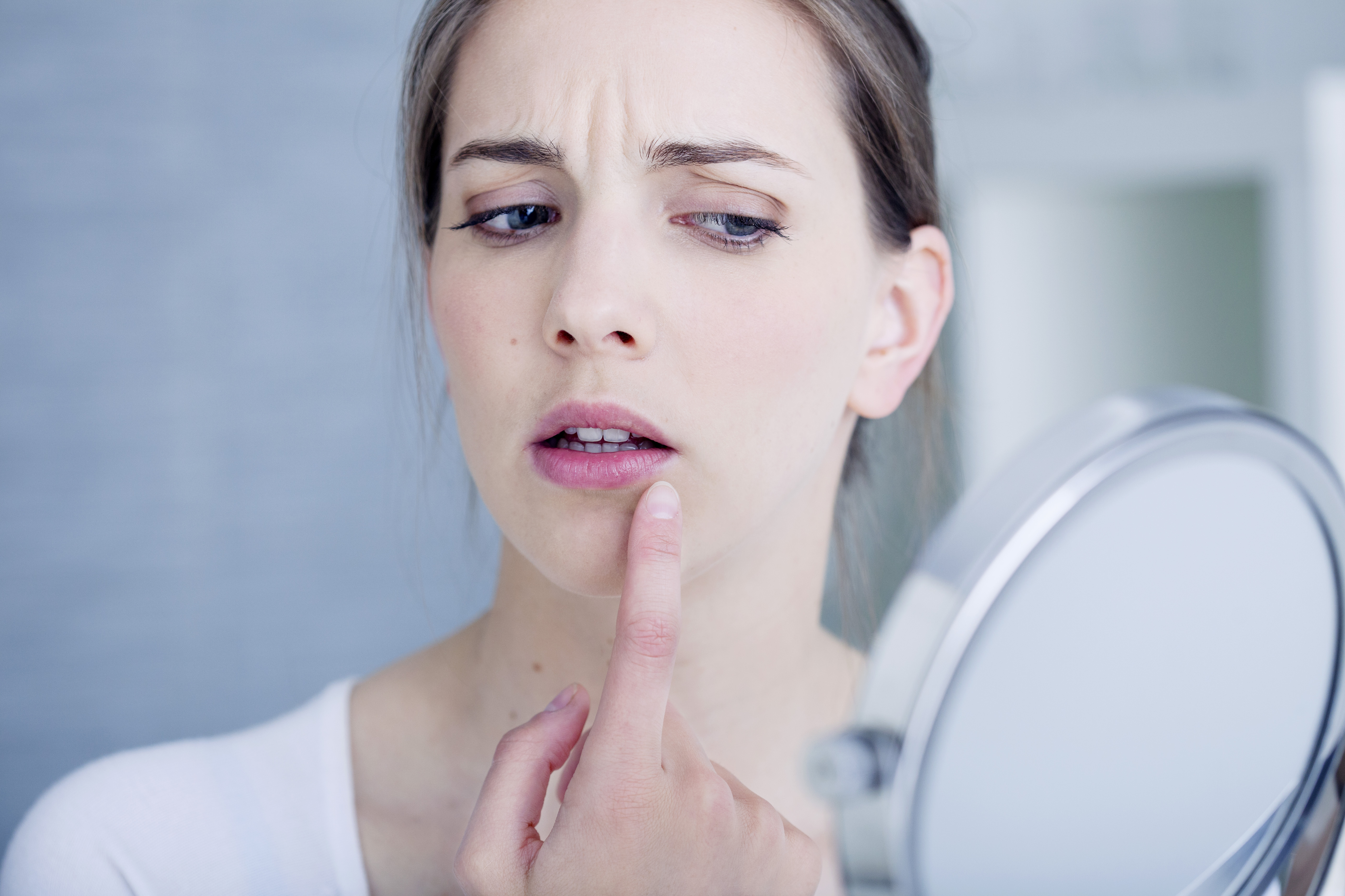 Causes of White Peeling Skin Inside Lip Include Cancer