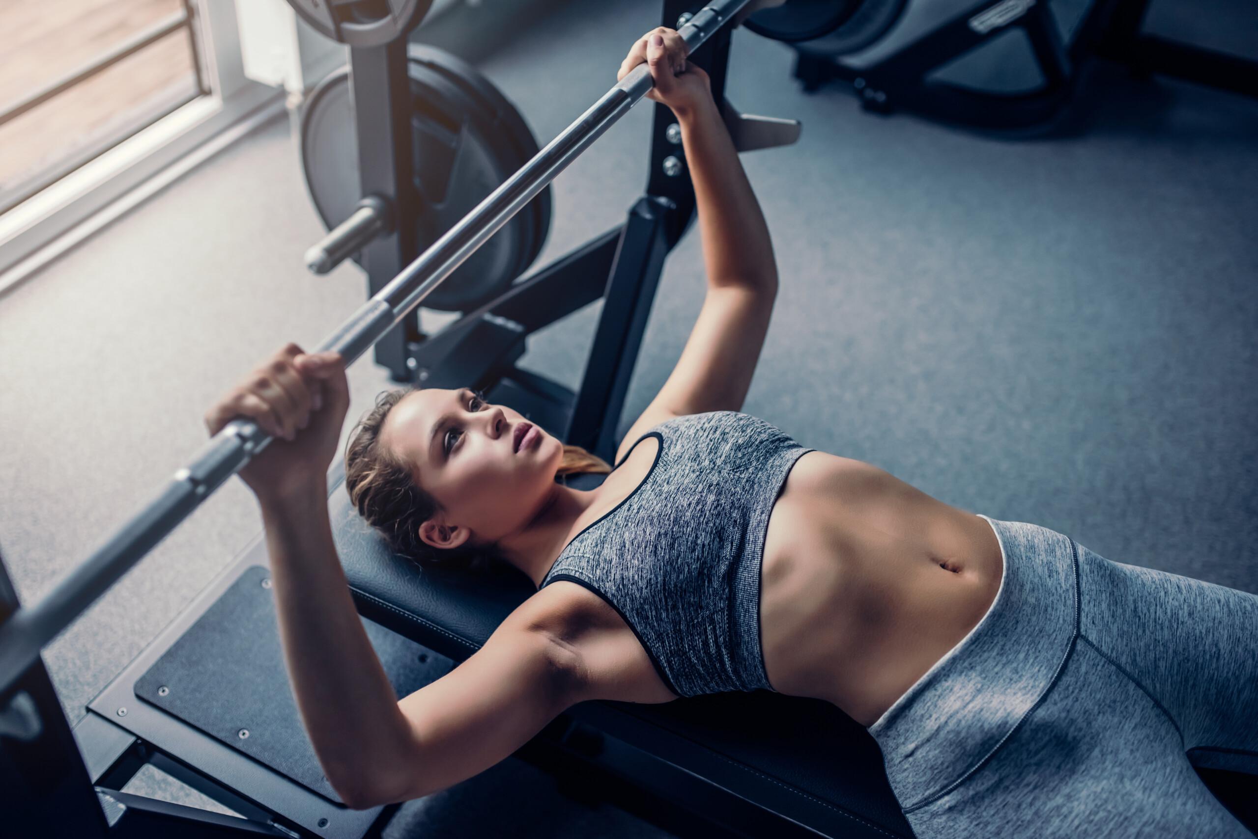 10 Bench Press Mistakes Women Make