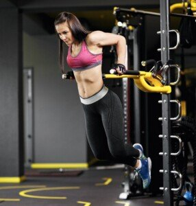 Can Women Learn to Do Parallel Bar Dips without Assistance?