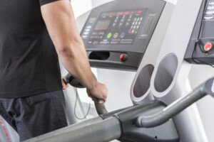 Taking Heart Rate on Treadmill: Continuous Holding Not Necessary
