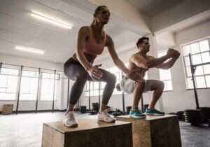 Jumping Workout with an 18 Inch Stool: Burn Fat