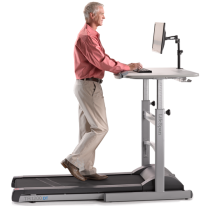 Is HIIT Possible on a Treadmill Desk While Using a Computer?
