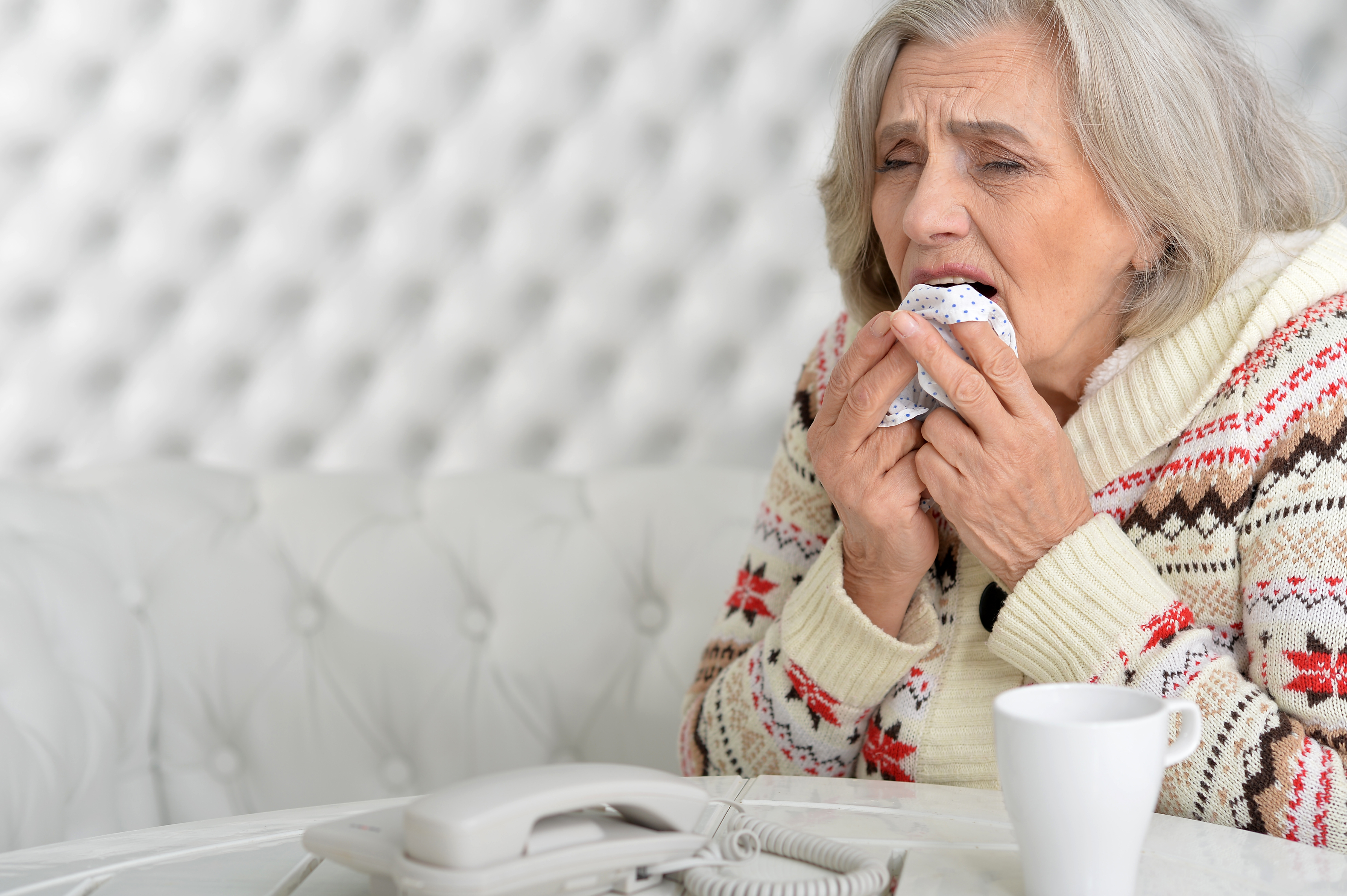 Bad Cough in Elderly: When to Go to ER