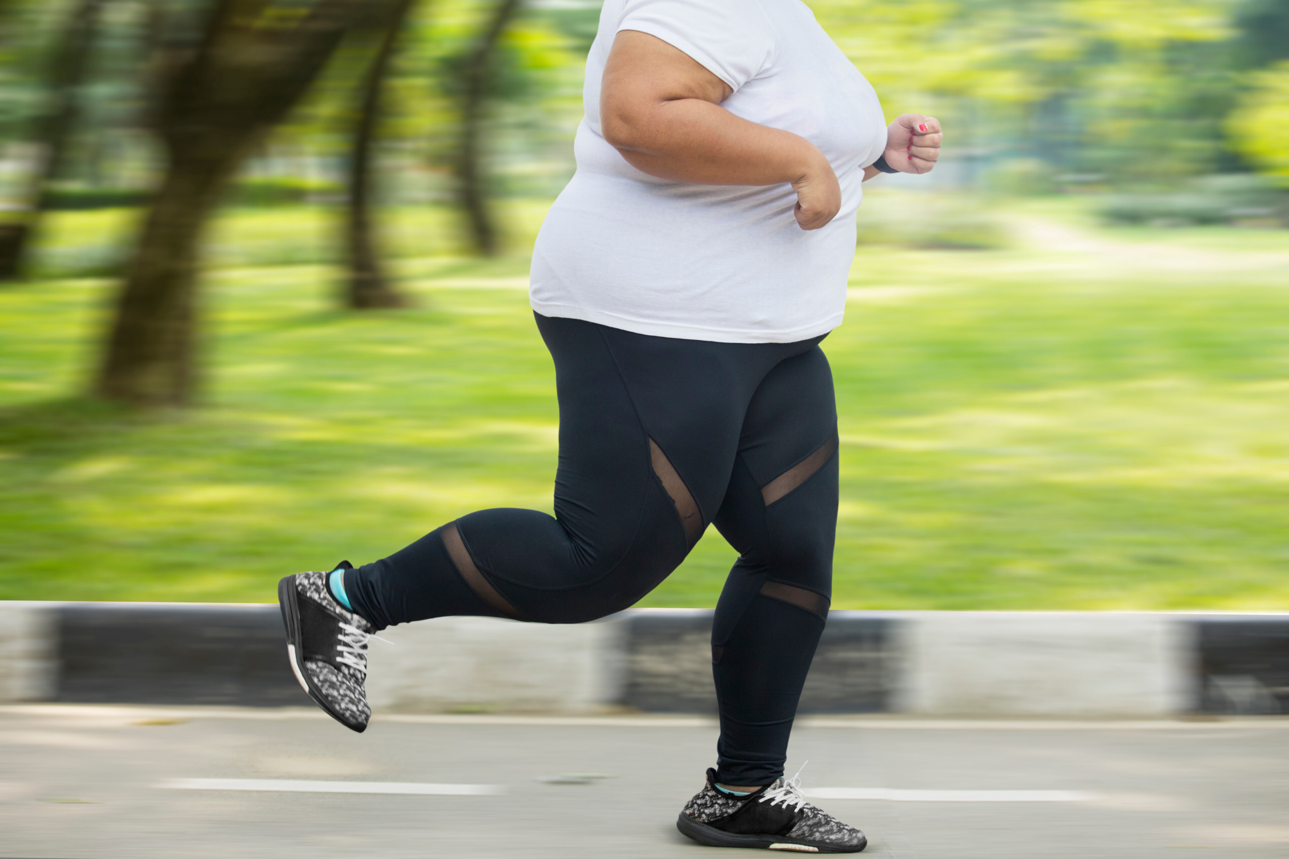 Overcome Your Fear of Jogging Outside if You're Overweight