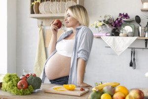 Healthy Pregnancy Diet vs. Prenatal Vitamins