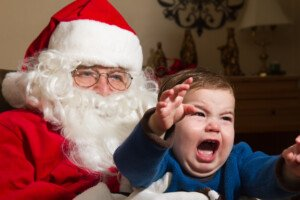 What Should I Do If My Child is Afraid of Santa Claus?