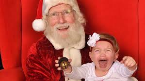 Never Make Screaming Child Sit in Santa Claus's Lap