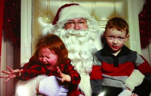 Are Parents Cruel for Forcing a Crying Child in Santa's Lap?