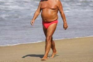 Why Old Men Have Skinny Arms & Legs but Big Bellies