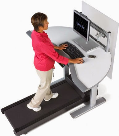 How to Avoid the Sitting Disease with a Treadmill Desk