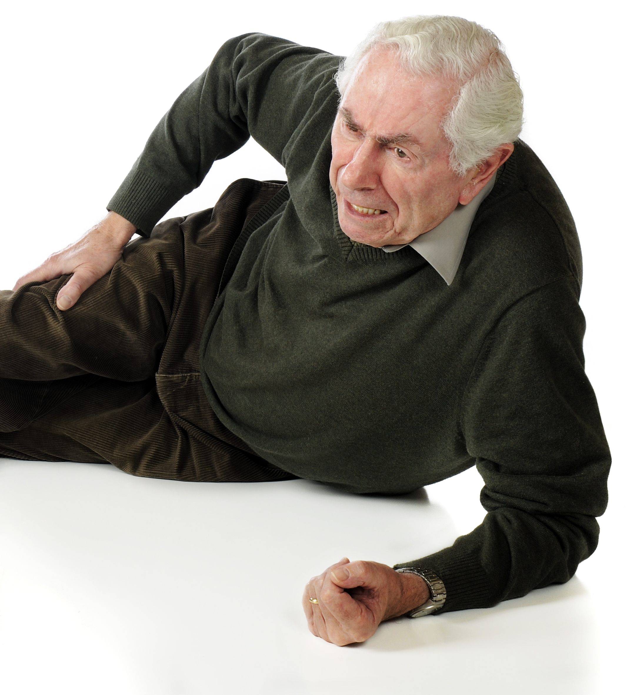 Falling from a Standing Position to the Floor in the Elderly