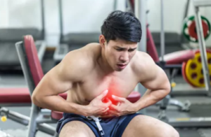 trouble breathing after exercise