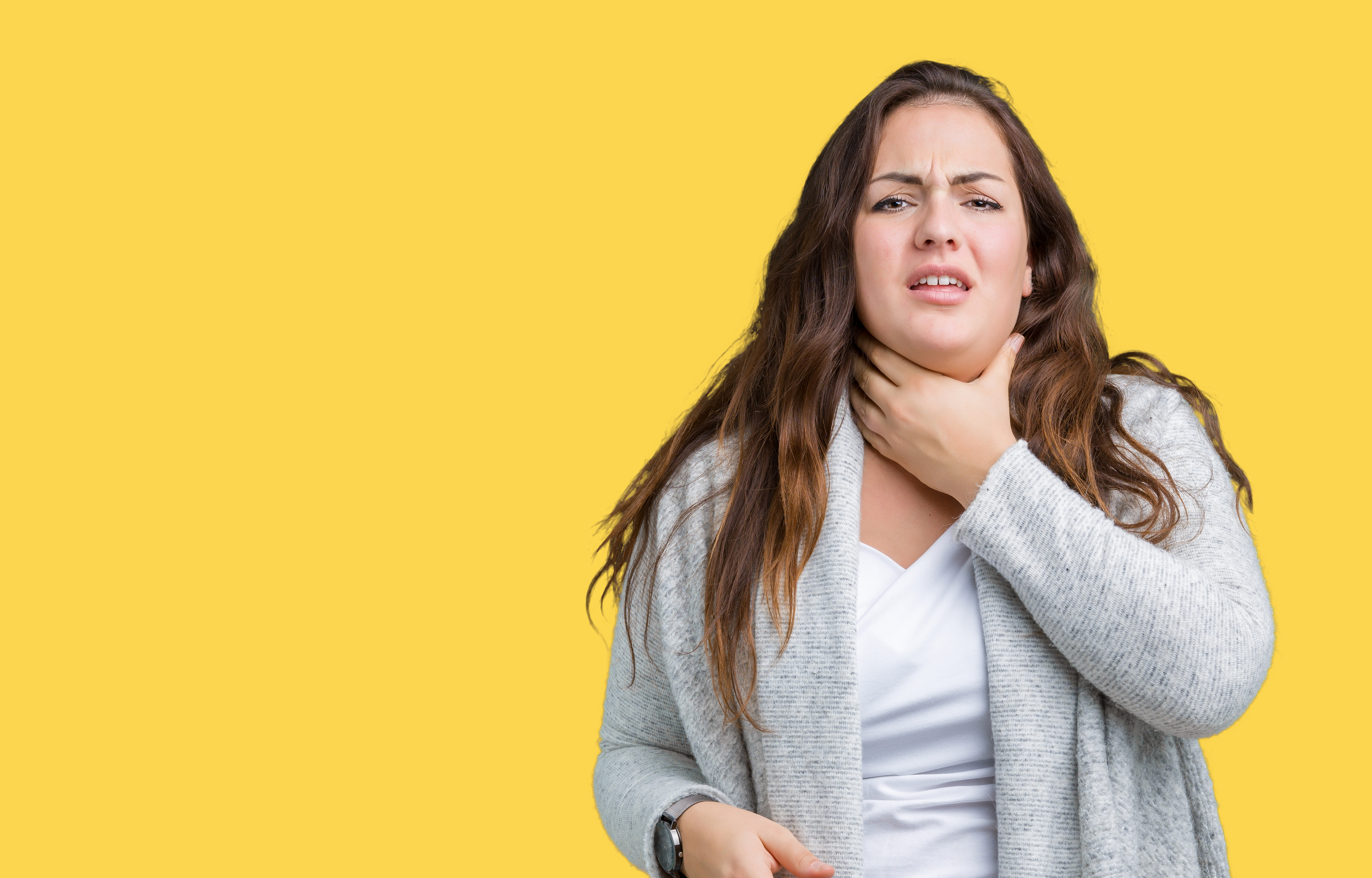 Trouble Swallowing, Thick Mucus in Back of Throat: Causes, Solutions