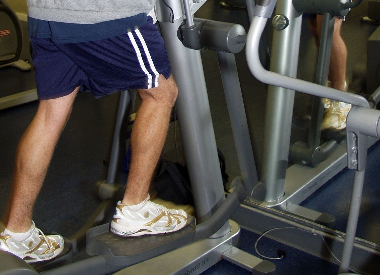 Fun Backward Pedaling Variations on the Elliptical Trainer