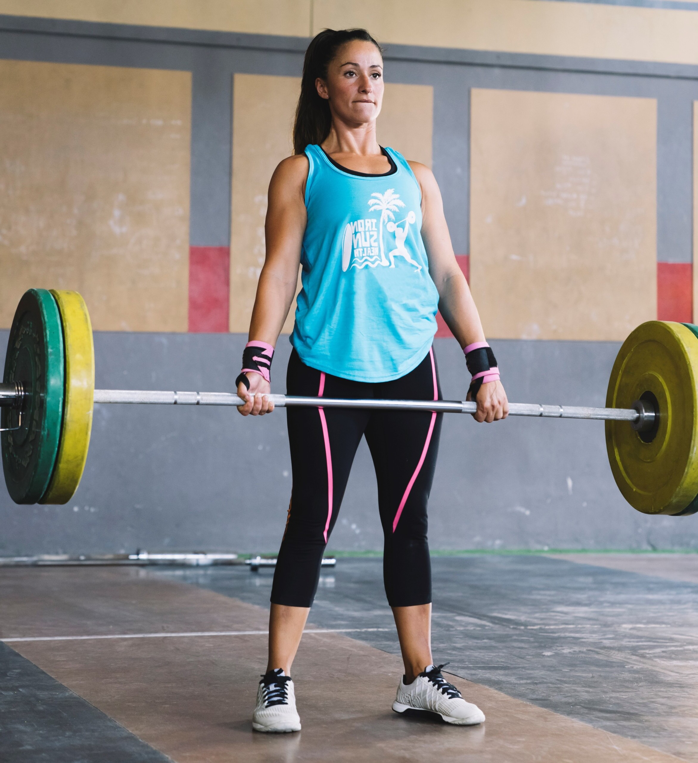 Why Don't Women Grunt Loudly when Lifting Heavy Weights?