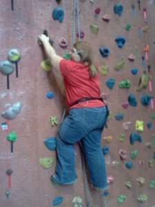 Wall Climbing if You're Plus Size: How to Get Past Fear