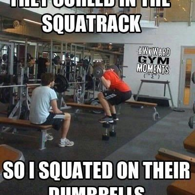 Why You Shouldn't Use the Squat Rack for Barbell Curls