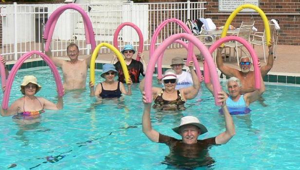Why Are Most Women in Water Aerobics Classes Obese?