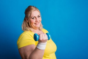 Why Obese Women Should Avoid Light Weight Workouts