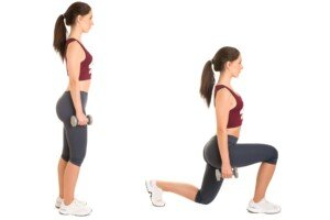 How to Make Walking Lunges More Tolerable