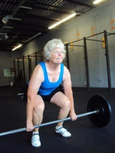why older women should lift barbells and dumbbells » scary