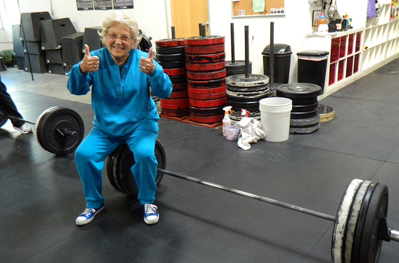The Single Best Exercise For A Frail Elderly Person