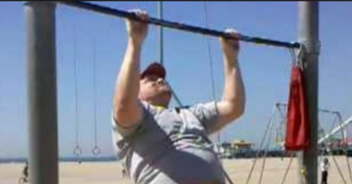 Pull-up Training for Mildly Overweight People: Yes, You Can!