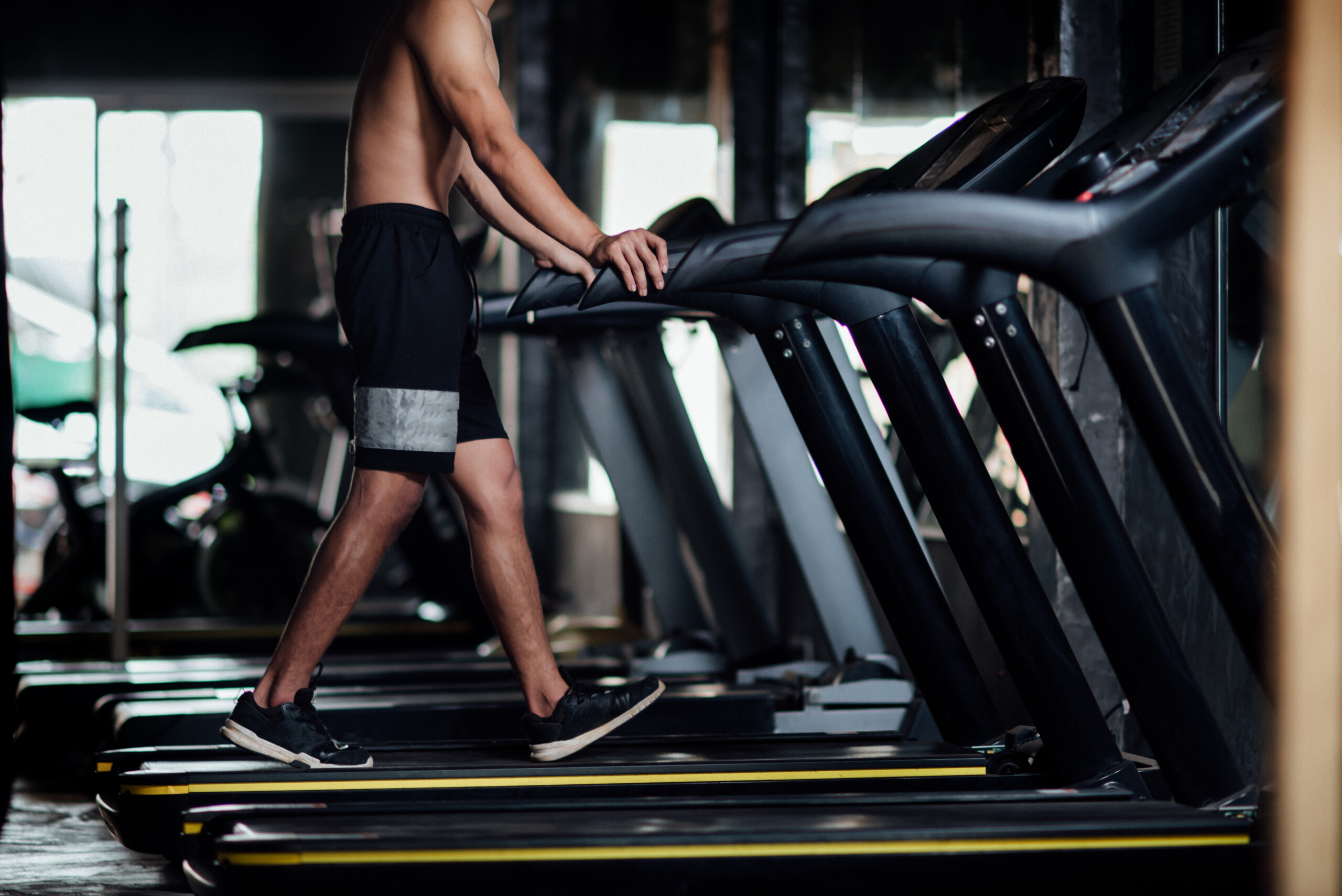 Holding onto a Treadmill Is Wrong Even with Good Posture