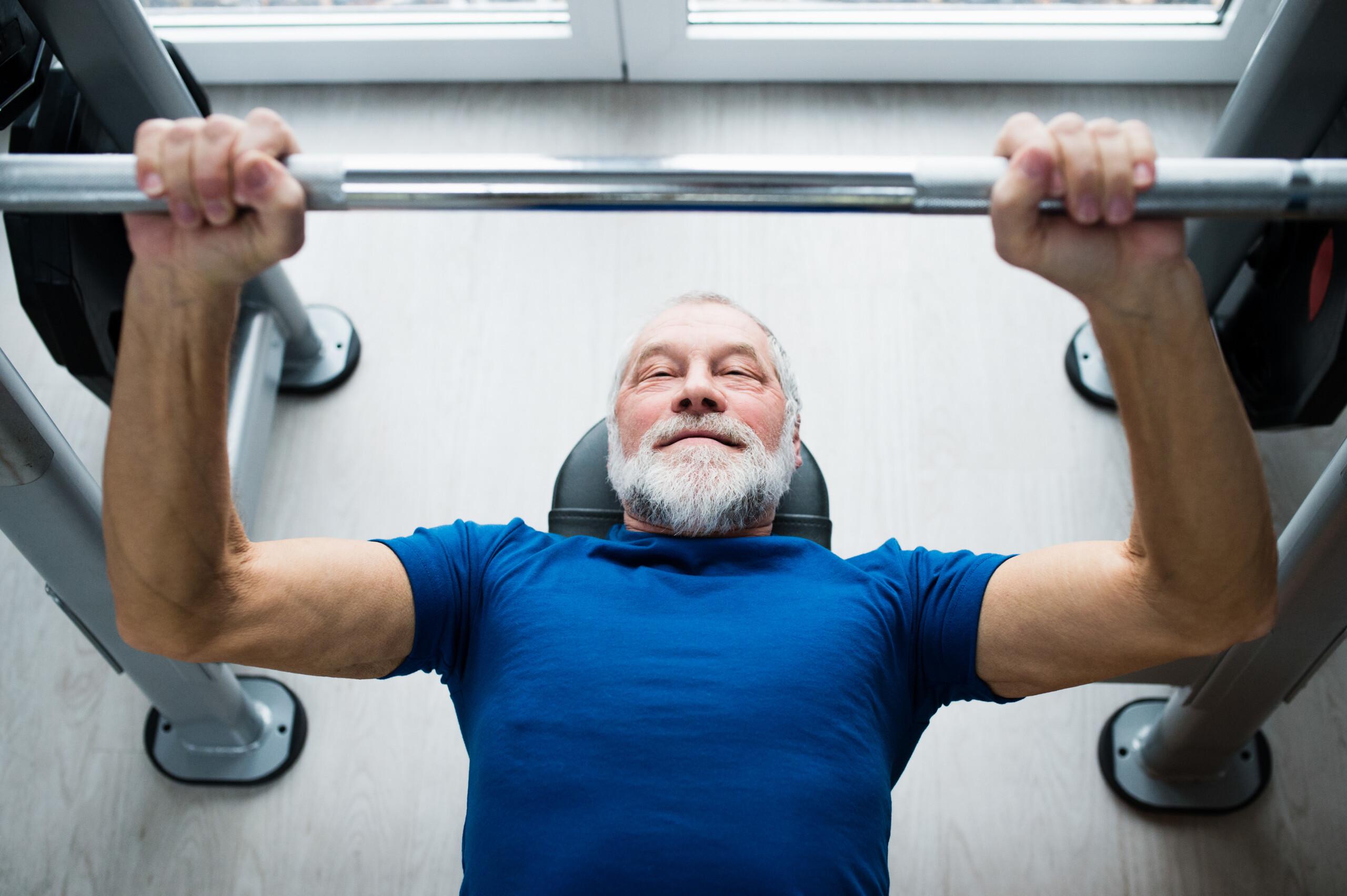 Should Elderly People Bench Press?