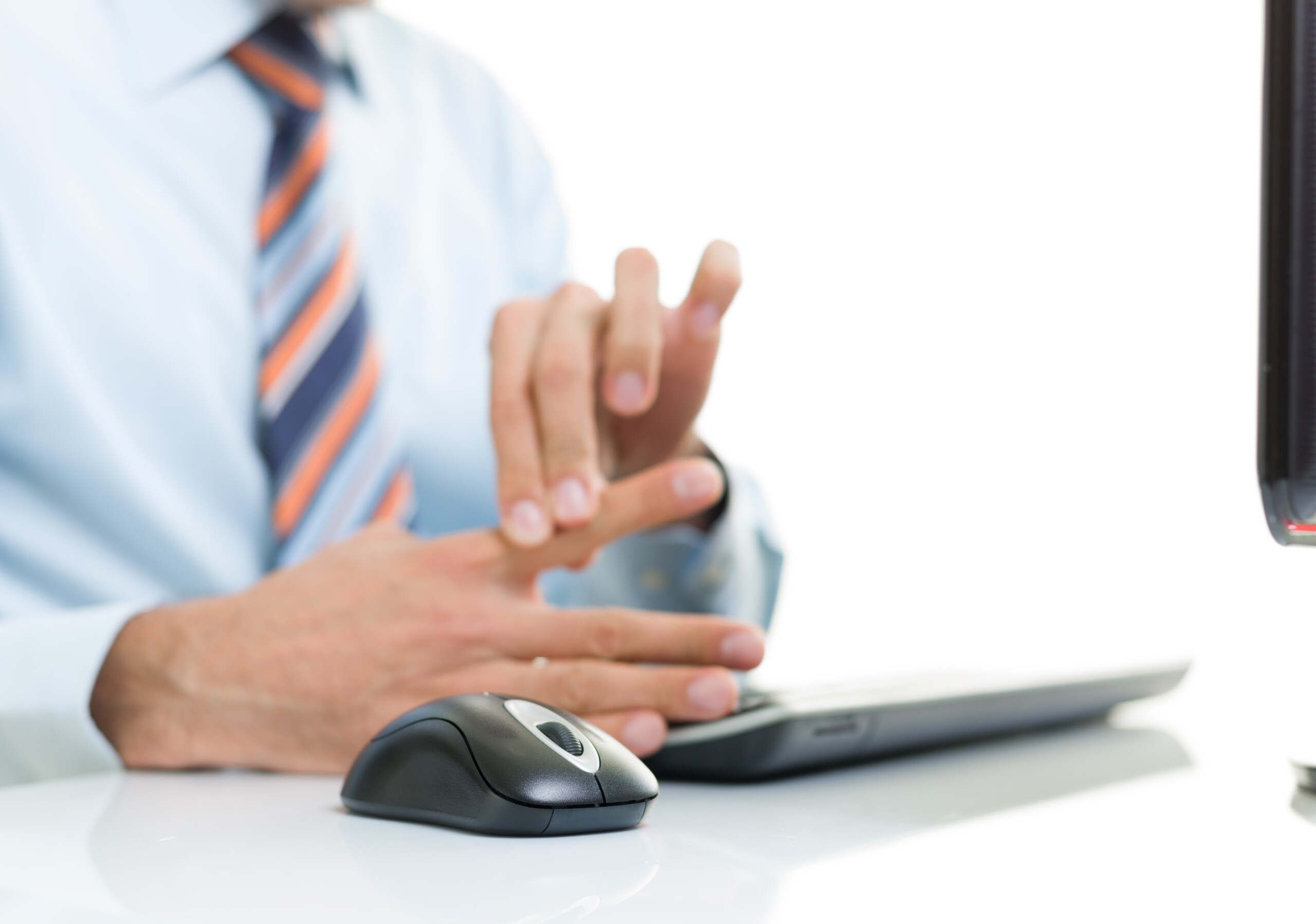 Twitching Index Finger from Computer Mouse Use: Solutions
