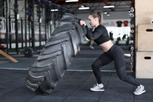 Why Women Should Do Tire Flipping for Exercise