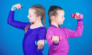 Is It Bad for Little Girls to Want Muscles that Can Be Flexed?