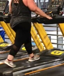 Why You Shouldn't Hold onto a Treadmill if You're Obese