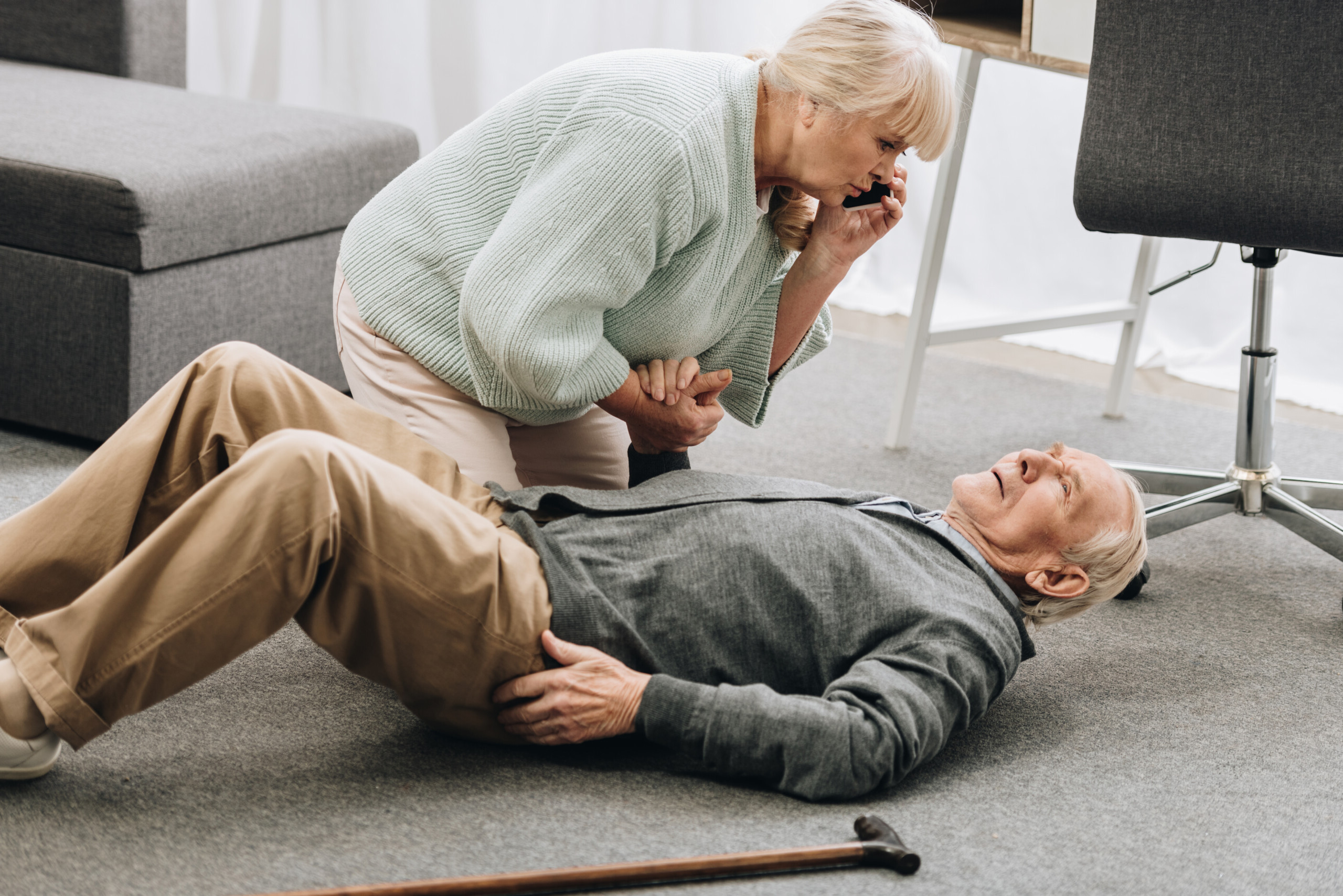 Why Is a High Fall Risk Often Denied by the Elderly?