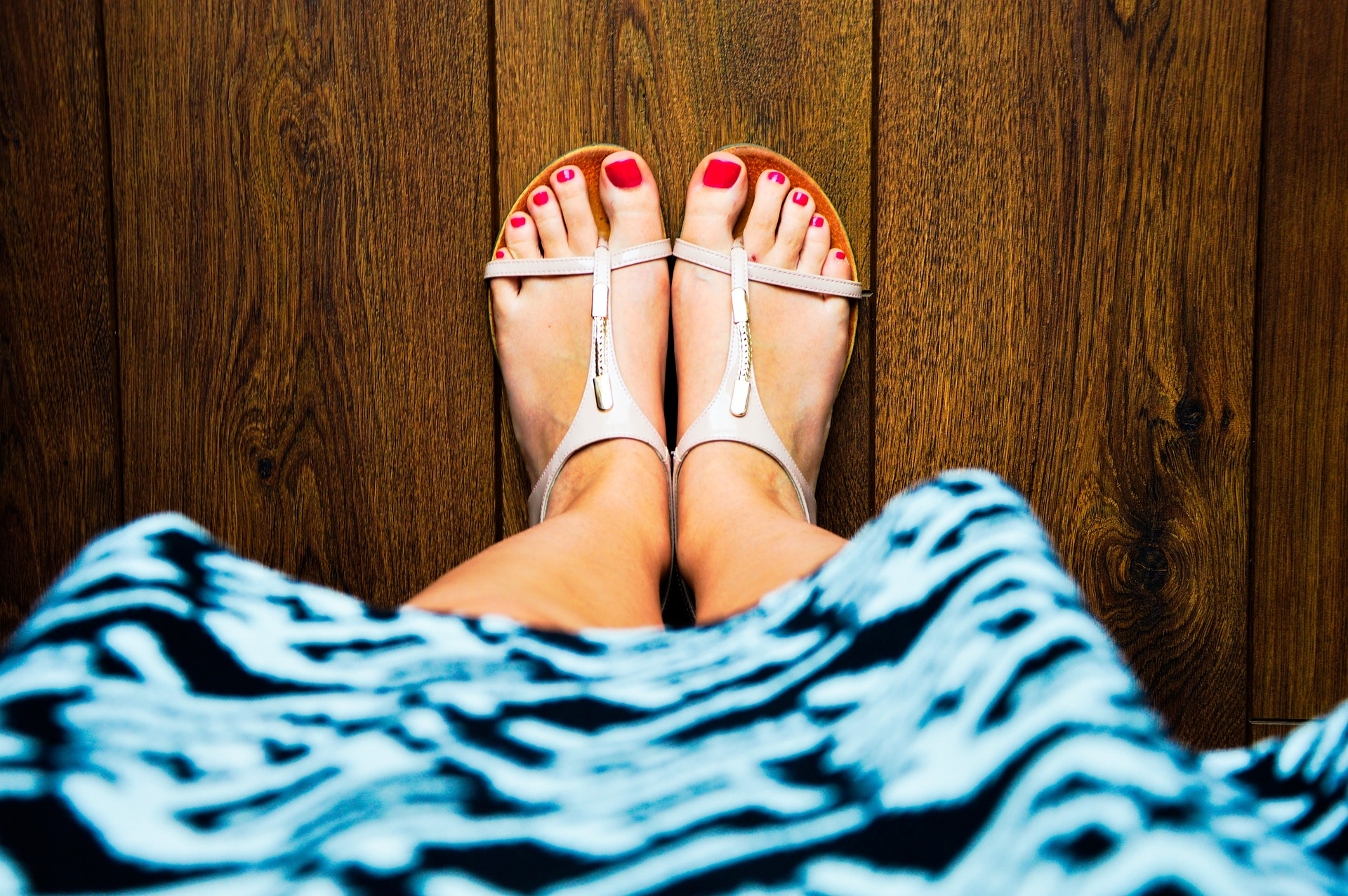 Sandal Wearing Guidelines for People with Diabetes