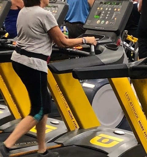 Why Holding the Treadmill's Front Bar Is Wrong at Any Age