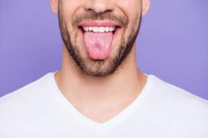 What a Dent in the Middle of the Tongue Means